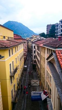 In den Strassen von Lugano