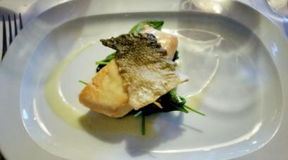 Gebratener Schottischer Lachs mit Pernod Sauce