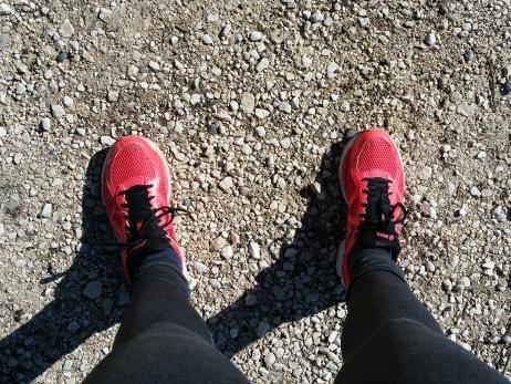 Auf der Joggingrunde