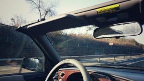 Die erste Fahrt mit dem Cabrio