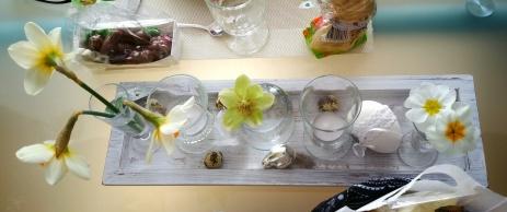 Tischdeko bei Familienessen Nr. 2